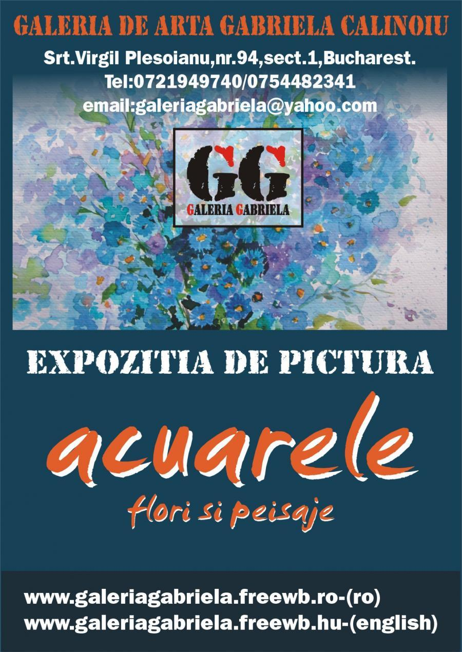 Poza Expozitia de pictura ACUARELE 1