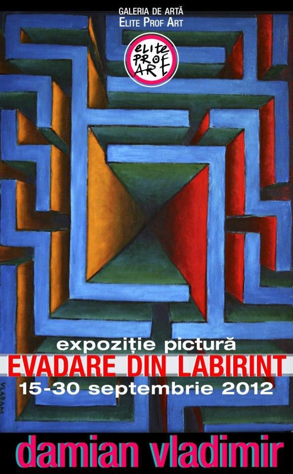 """Poza Expozitia personala """"Evadare din Labirint"""" 1"""