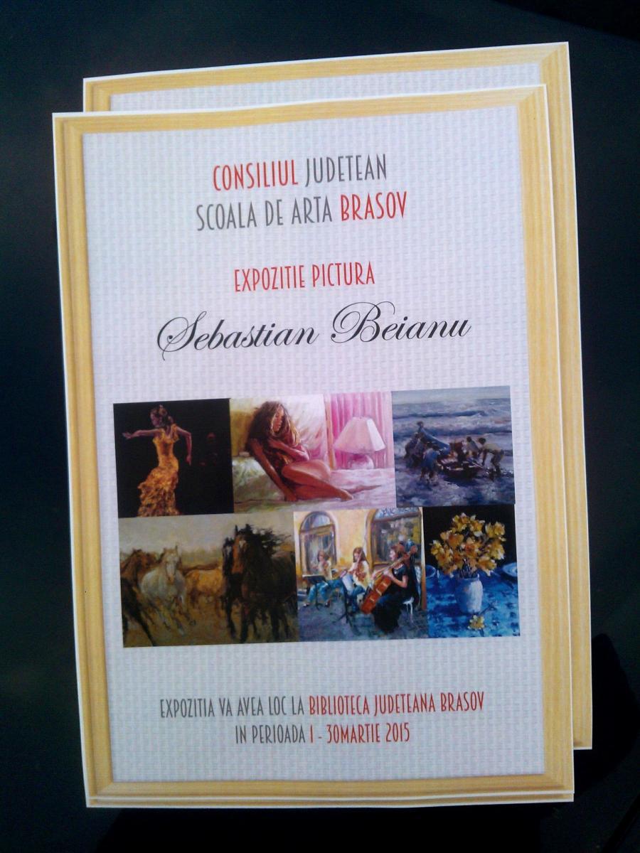 Poza expo pictura beianu sebastian,brasov 1