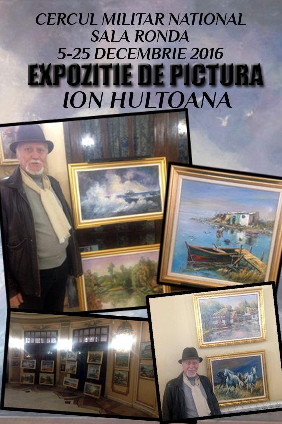 Poza Expozitie pictura Ion Hultoana 1