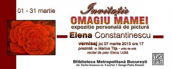 Poza Expozitie de pictura Elena Constantinescu 1