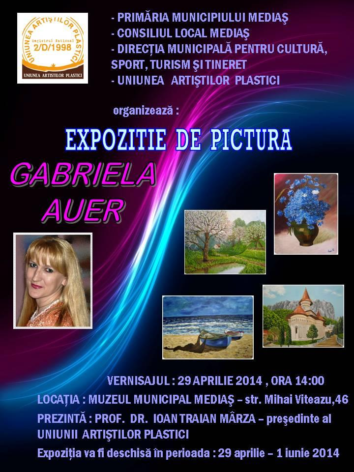 Poza Expozitie de pictura - AUER GABRIELA 1