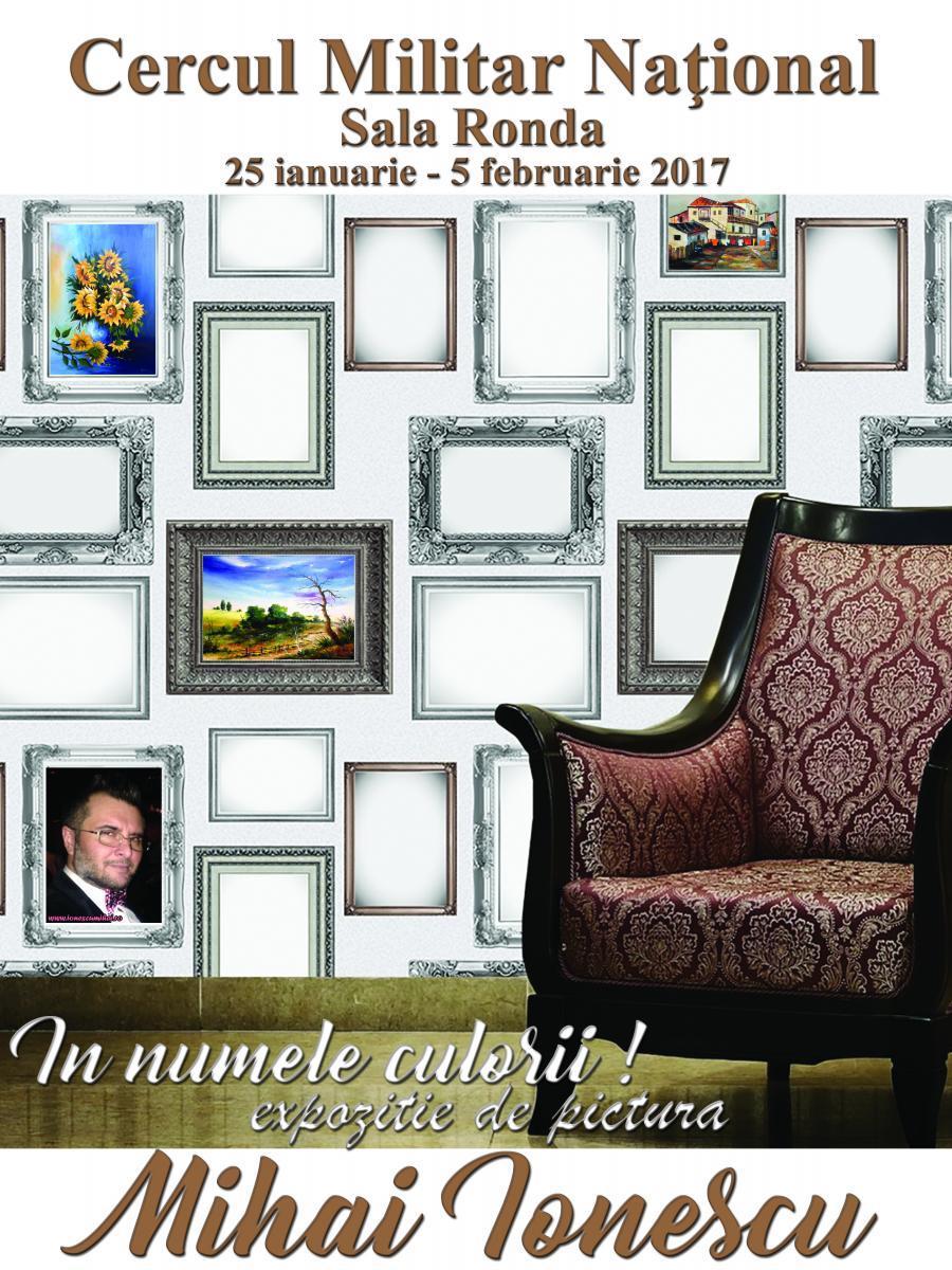 Poza In numele culorii! Expozitie pictura Cercul Militar - Mihai Ionescu 1