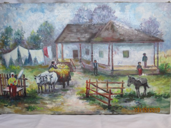 alte Picturi Gospodarie taraneasca