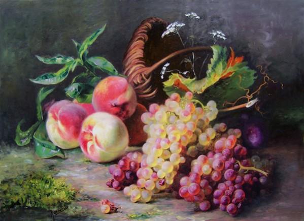 alte Picturi Piersici si struguri