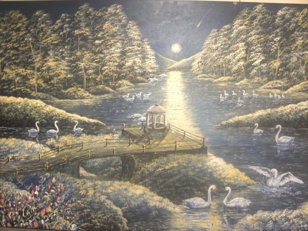 alte Picturi Noaptea lebedelor