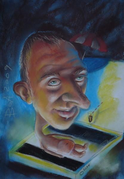alte Picturi Caricatura lui mugur
