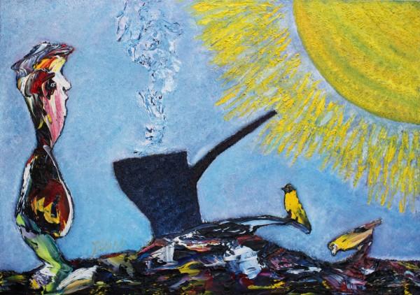 alte Picturi La cafea cu soarele