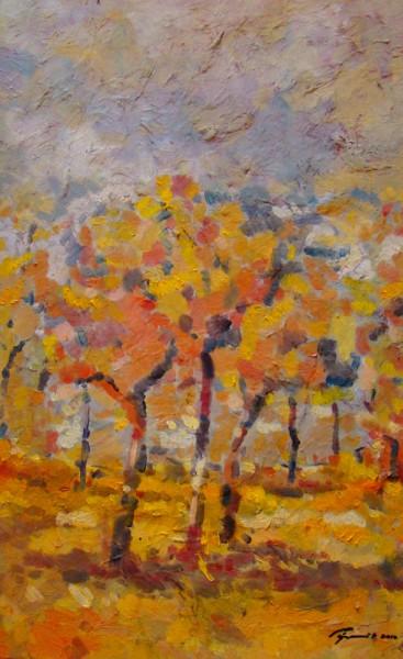 alte Picturi Palc de copaci galbeni