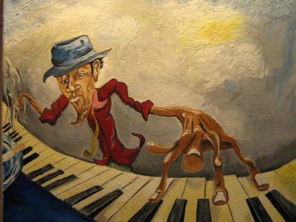 alte Picturi Piano man 3