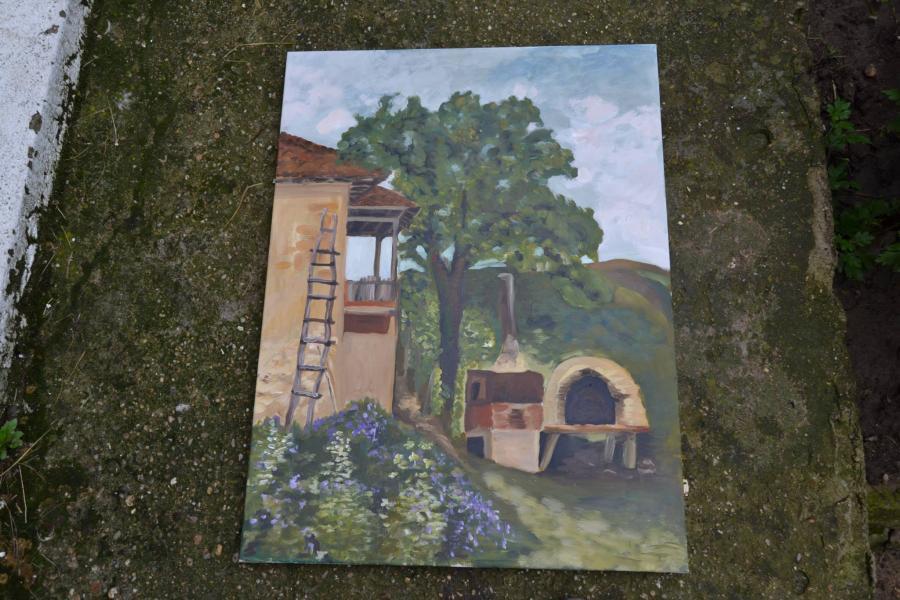 alte Picturi Casa cu cuptor