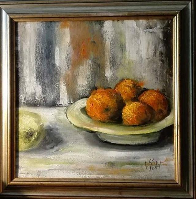 alte Picturi Natura statica cu portocale