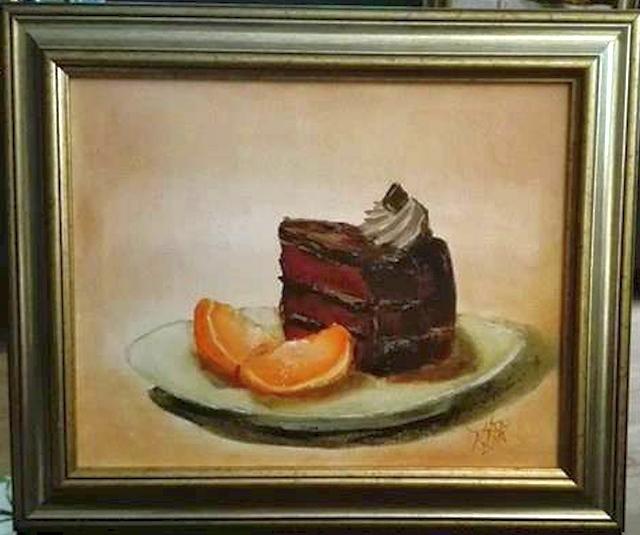 alte Picturi Tort Amandina si citrice