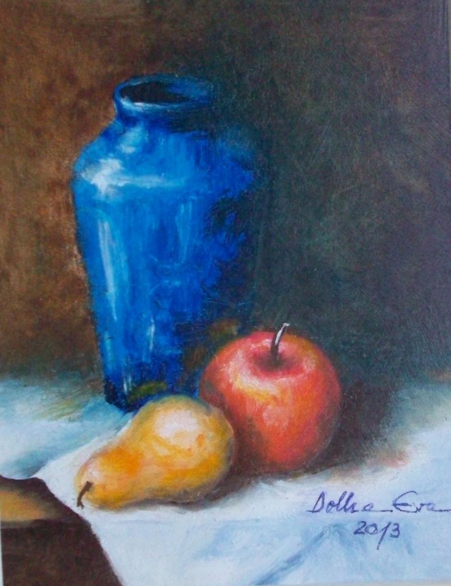 alte Picturi Vas si fructe