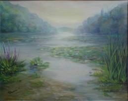 alte Picturi Lac cu nuferi la dognecea