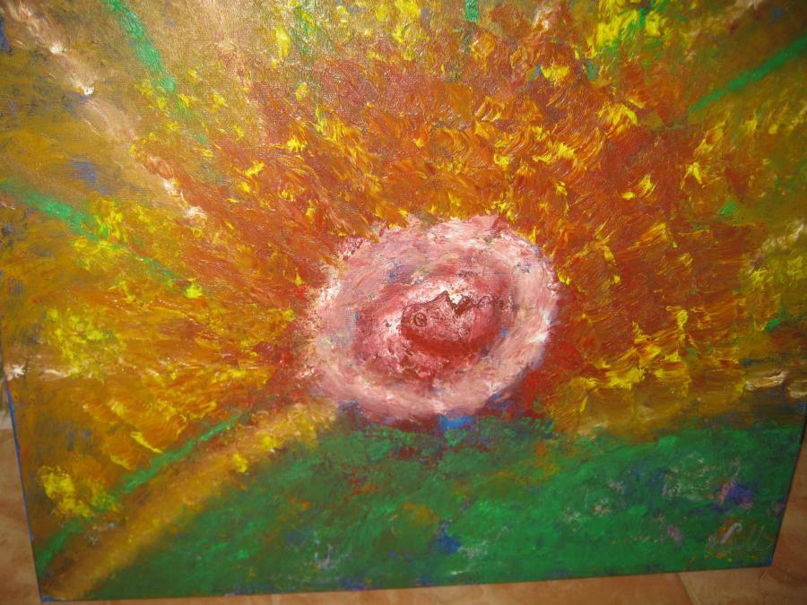 alte Picturi Soare abstract