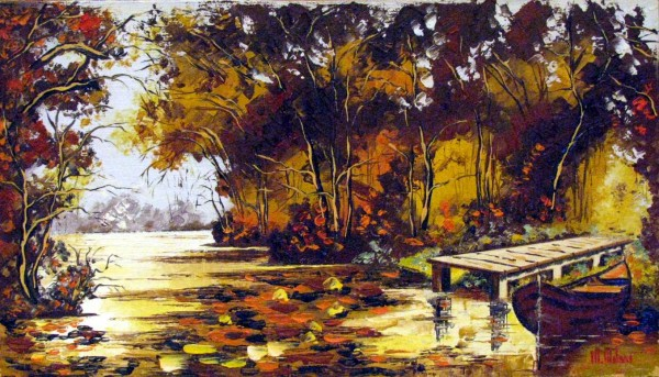 alte Picturi Ponton in delta