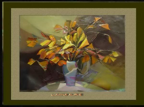 alte Picturi Lumina aurie--249