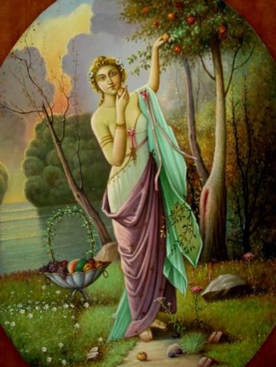 alte Picturi Eva moderna