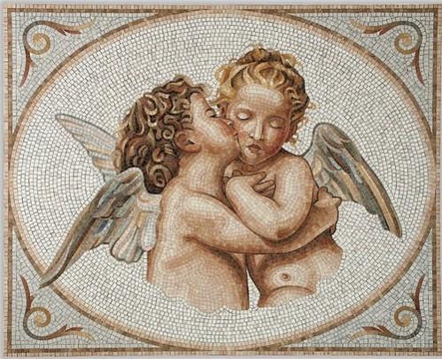 alte Picturi Mozaic ingerasi