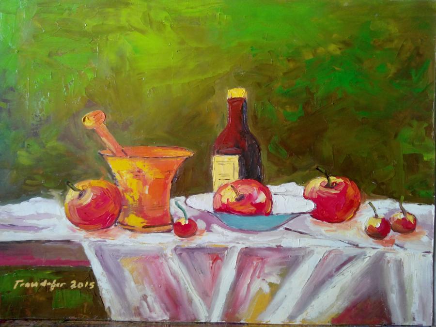 alte Picturi Mojar cu mere