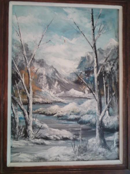 alte Picturi Copacii desfrunziti