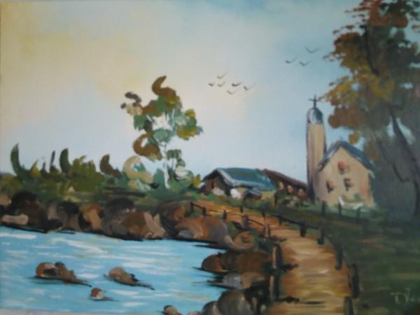 alte Picturi Ruinile bisericii