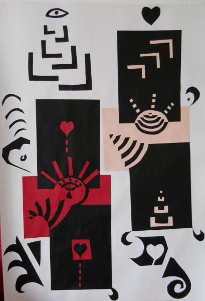 alte Picturi Labirintul divin. mantuitoarea suferinta