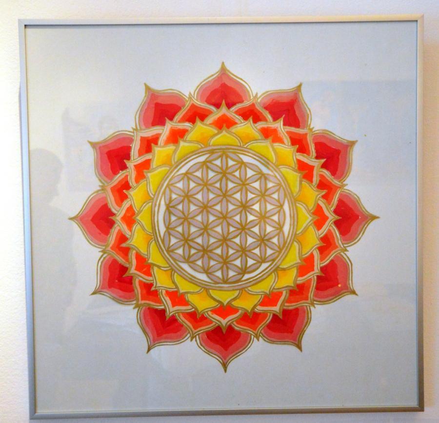 Picturi abstracte/ moderne Floarea vieti