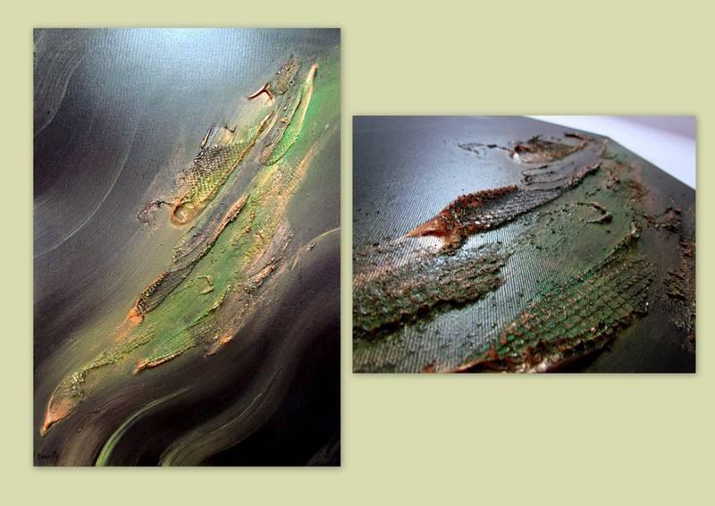 Picturi abstracte/ moderne JUNGLE 6