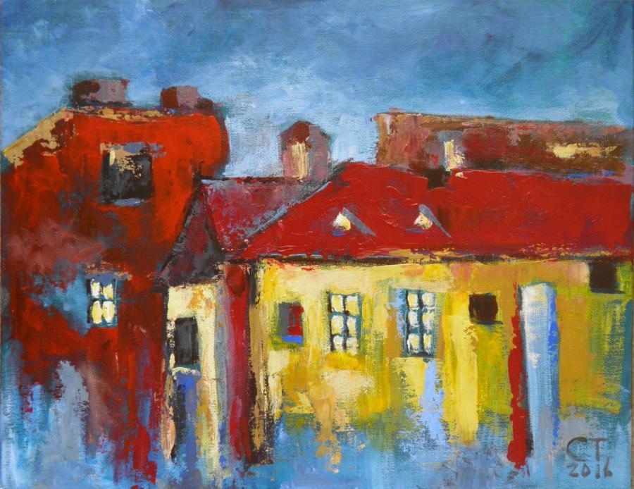 Picturi abstracte/ moderne Lumini in noo