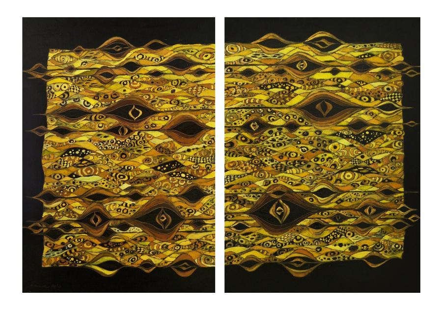 Picturi abstracte/ moderne Partitura toa