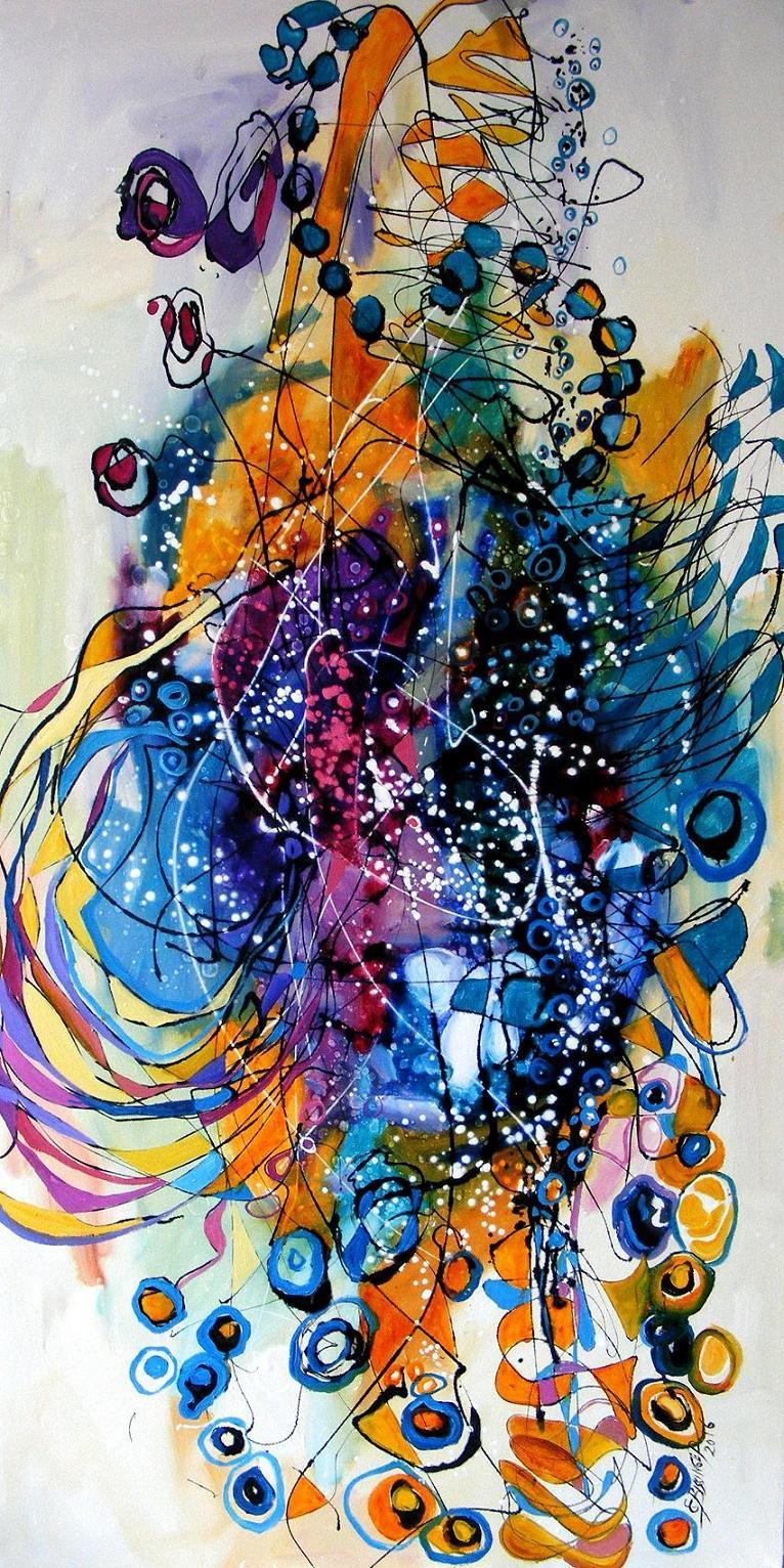 Picturi abstracte/ moderne Un stradivari