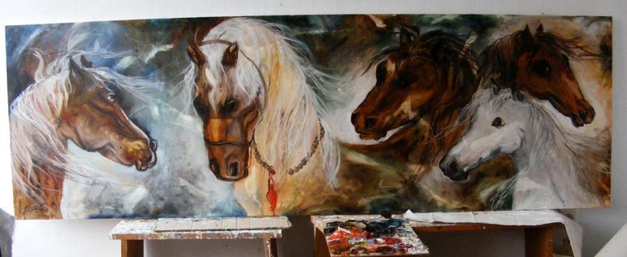 Picturi cu animale Dragoste la prima ved