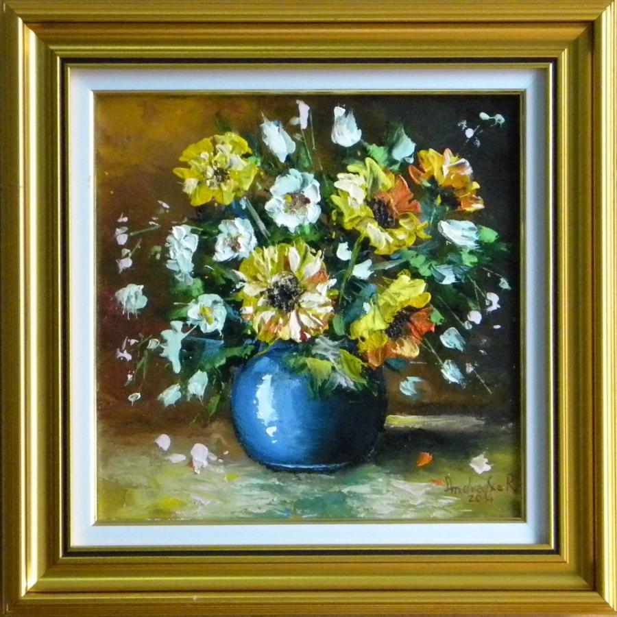 Picturi cu flori FLORI DE TOAMNA IN VAZA