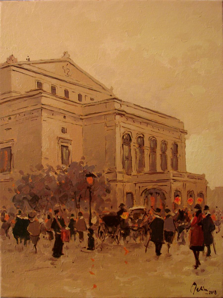 Picturi cu peisaje Fostul Teatru Nationa