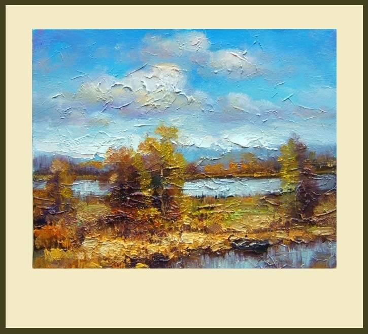 Picturi cu peisaje La topalu