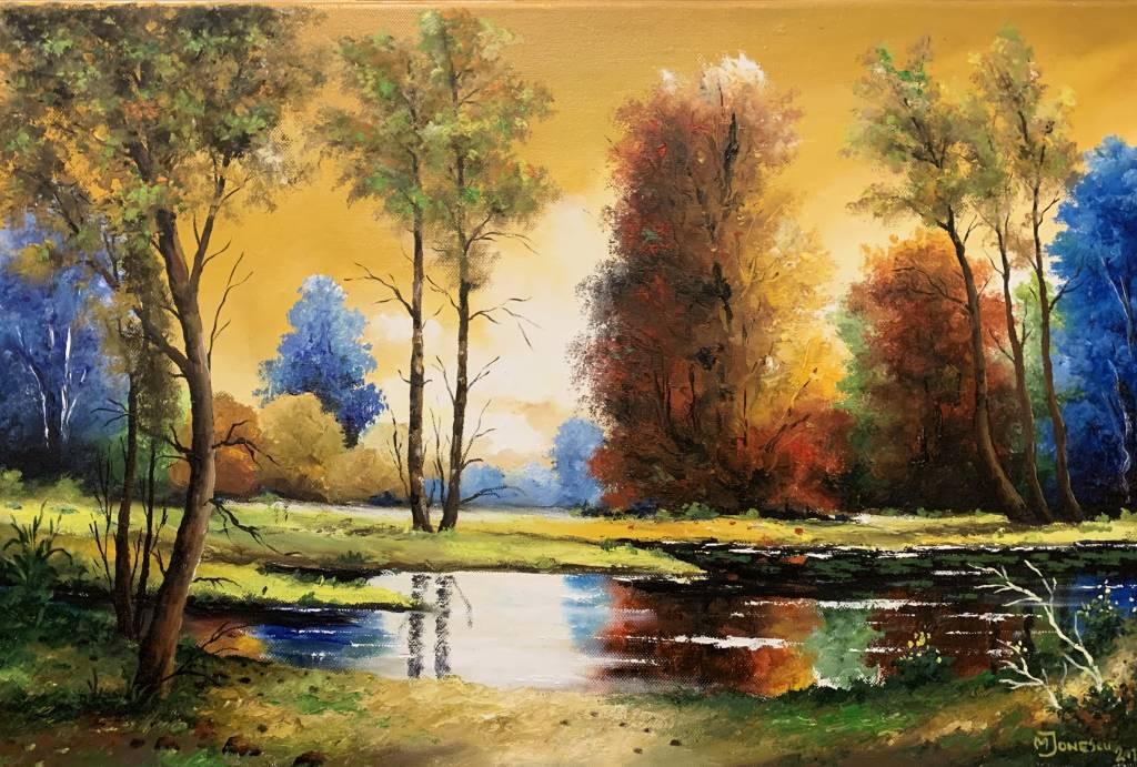 Picturi cu peisaje peisaj de vis..
