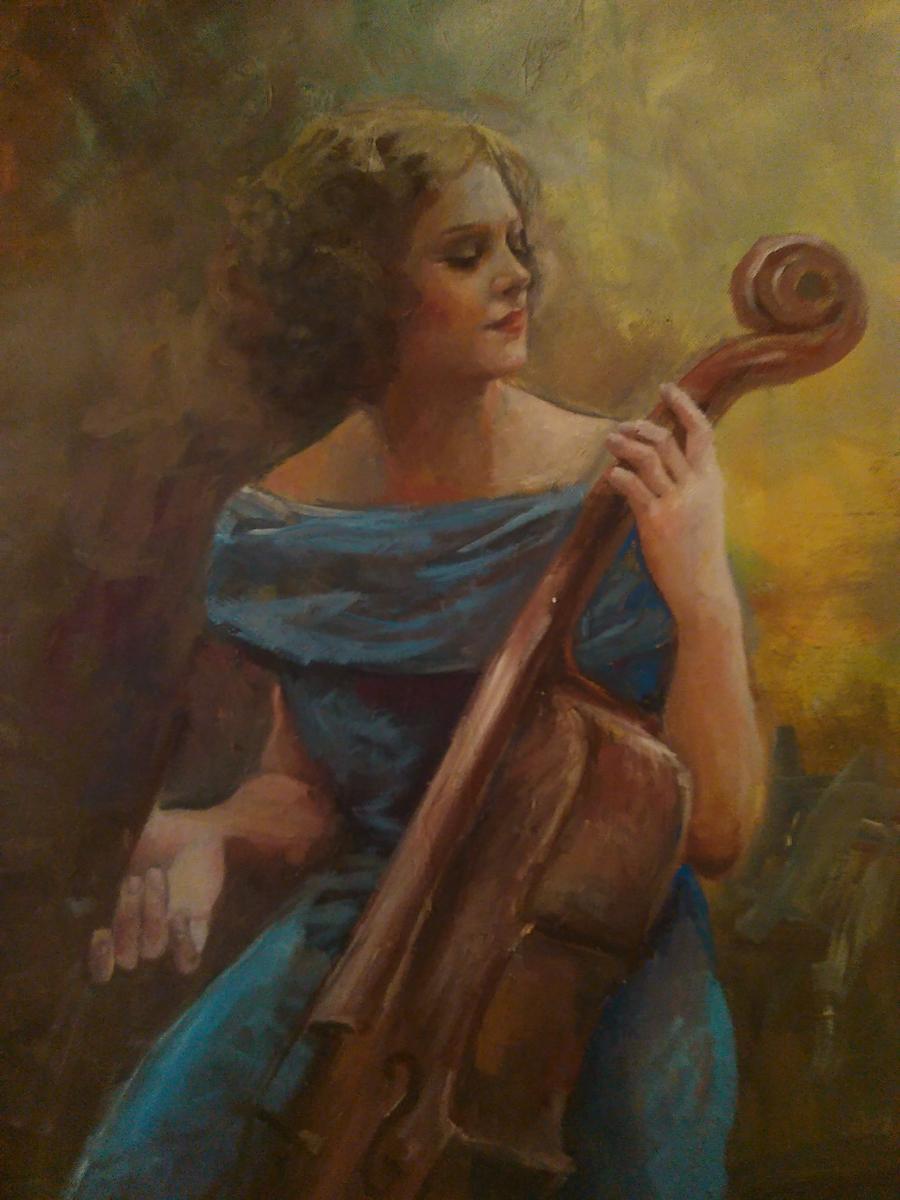 Picturi cu potrete/nuduri Concert de toa