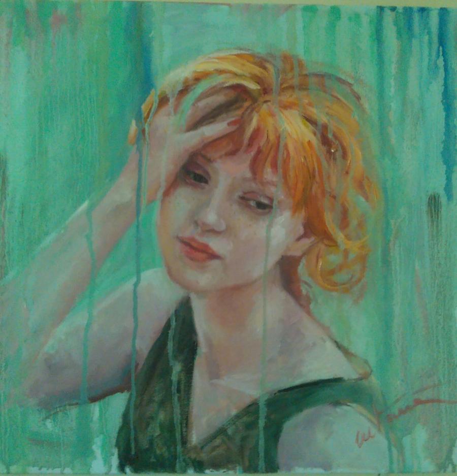 Picturi cu potrete/nuduri Ploaie de amin