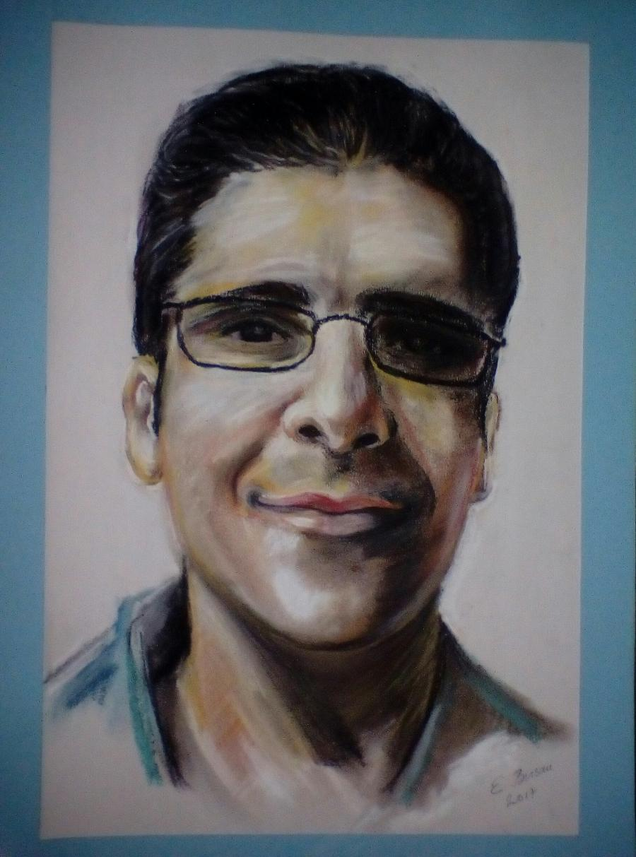 Picturi cu potrete/nuduri Portret in pas