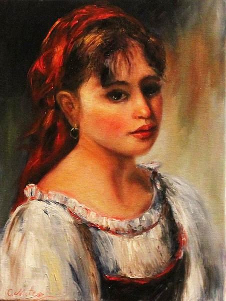 Picturi cu potrete/nuduri Portret taranc