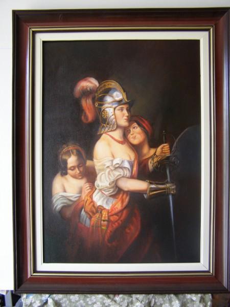 Picturi cu potrete/nuduri Scena mitologi