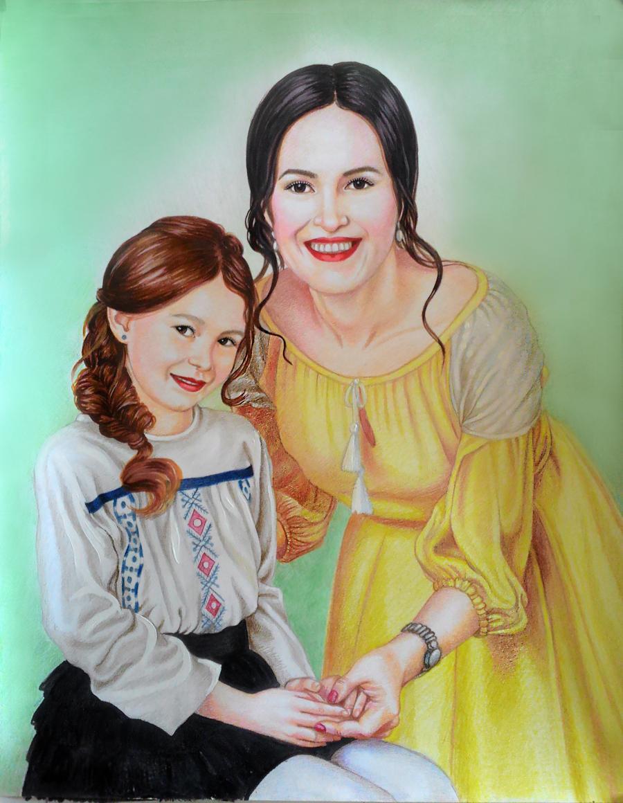 Picturi cu potrete/nuduri Vera Nastasiu