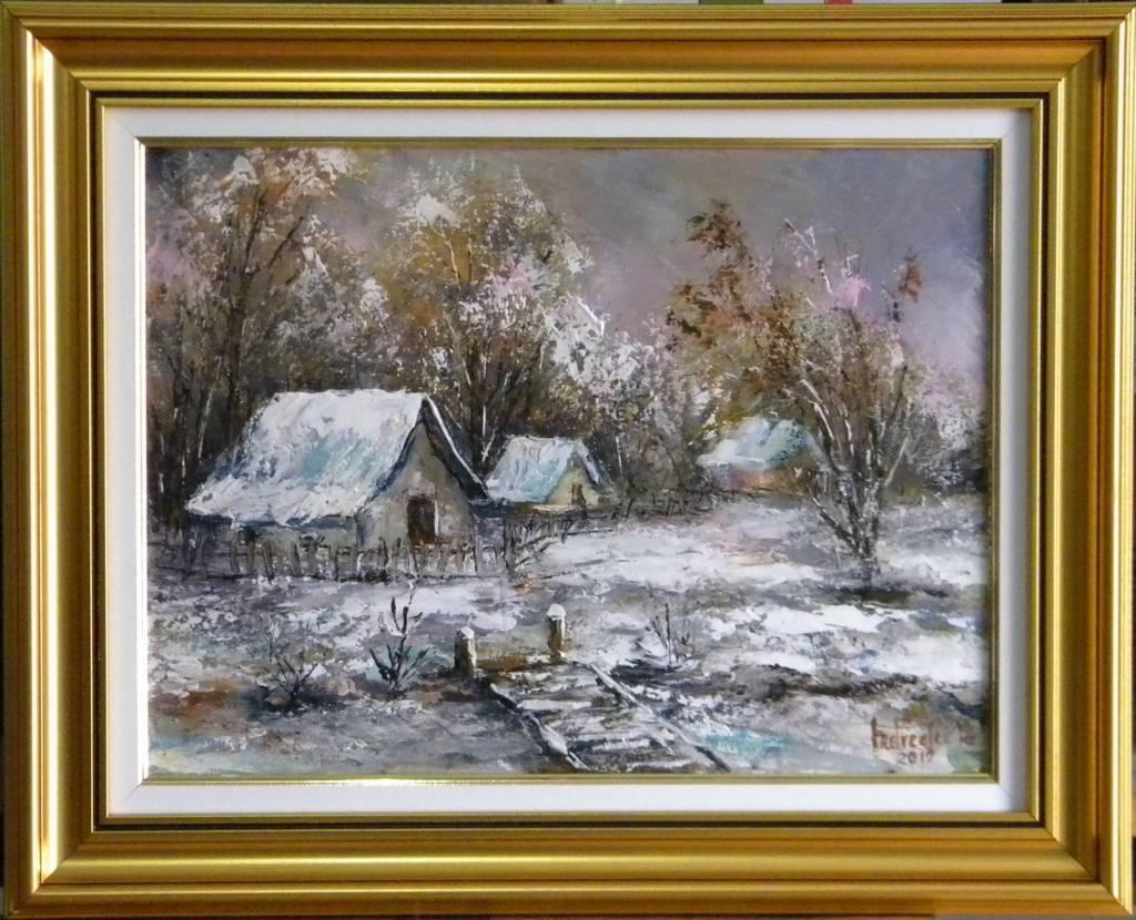 Picturi de iarna PODET DE IARNA