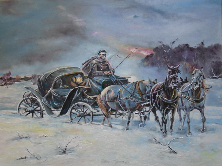 Picturi de iarna trasura prin nameti 2 .
