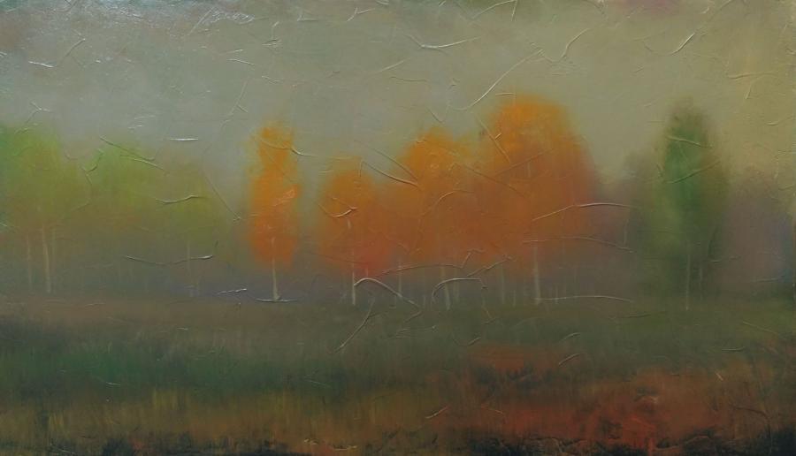 Picturi de toamna dimineata de noiembrie