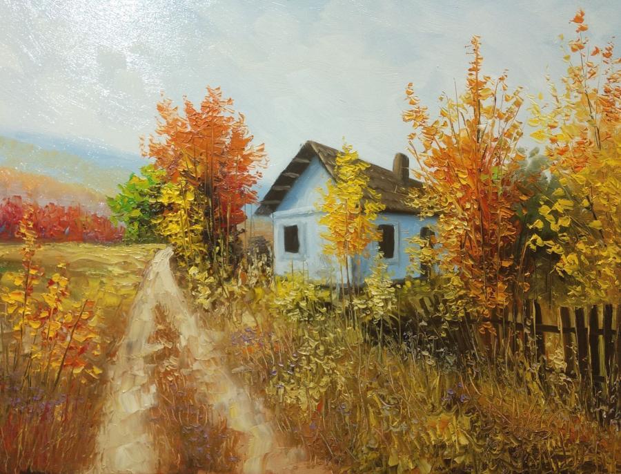 Picturi de toamna la marginea satului 20