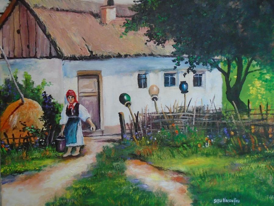 Picturi de vara vesnicia sa nascut la sa