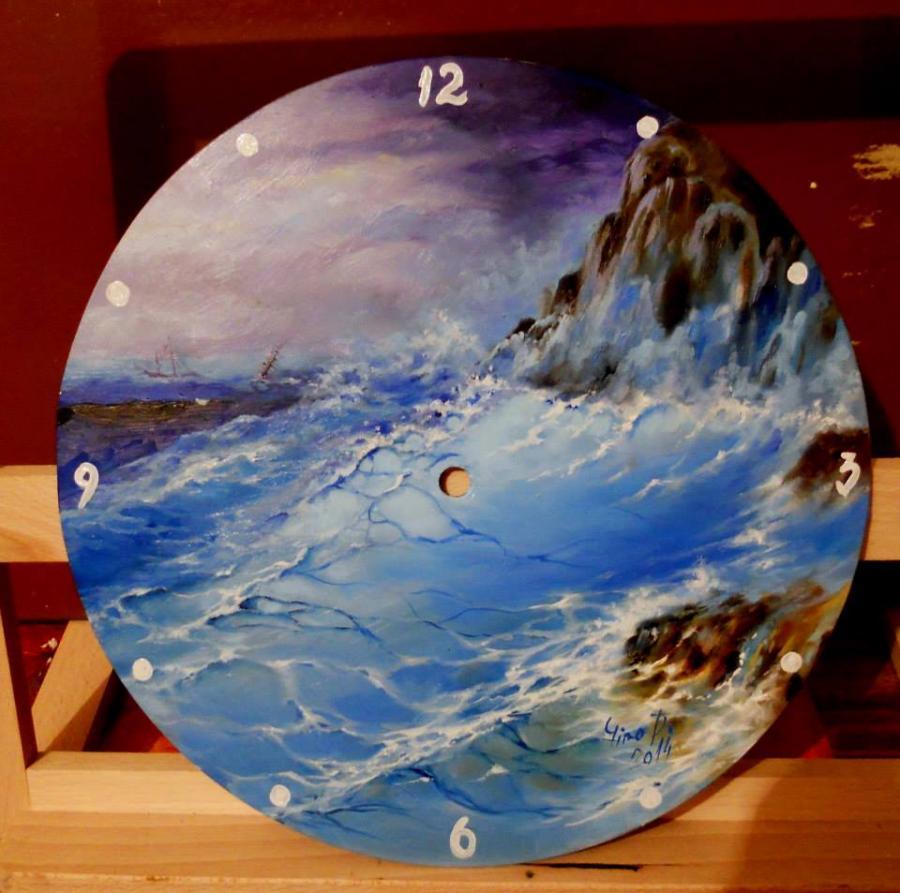 Picturi maritime navale Ceas de perete c